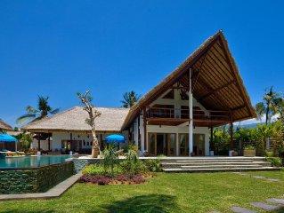 5* Luxe beachvilla, fantastische staff, aan zee en heerlijk zwembad