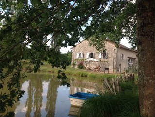 Barn Conversion with pool, lake and pétanque