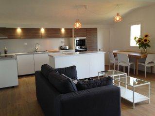 Appartement T3  renove dans Villa avec jardin a 2min de la plage de SOCOA