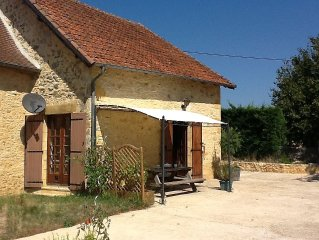 Charmingly Restored Stone Cottage, With Lovely Country Views