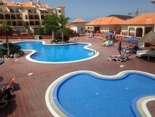 STUNNING 2 BED, 2 BATH APARTMENT WITH 2 HUGE PRIVATE TERRACES 2 HEATED POOLS