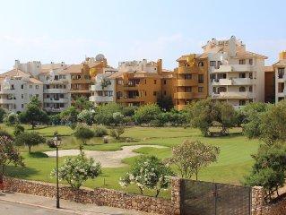Torrevieja punta Prima.2 ch.2 sdb. Grande terrasse vue sur mer .pour 6 pers