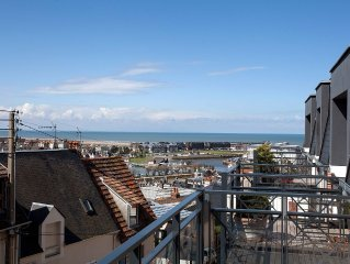 Vue Mer: 'Le Clos', 3p Neuf Gd Standing (70 m2) - famille (5 pers.) - Trouville