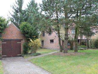 charmant, rustig gelegen vakantehuis met grote tuin in trappistendorp Westmalle
