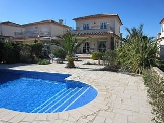 Comfortable Villa with Private Pool, Views To 3rd Fairway & Orange Groves