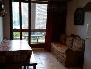Appartement dans résidence situé en plein centre de station