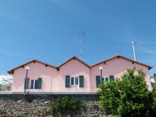 casa rustica indipendente splendida vista mare
