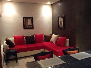 Appartement de charme et très lumineux au coeur de Rabat Haut Agdal, Internet/Wi