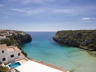 Casa M is a cliff side villa with a private pool
