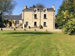 The Perfect Getaway! Idyllic setting for a Magnificant Breton Manoir with pool.