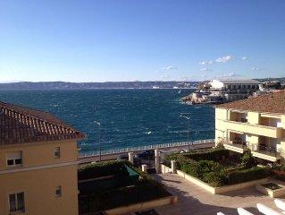 Corniche Kenedy face à la mer
