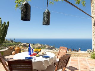 Majorca home with panoramic views at the best sunset of Majorca