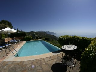 villa il carrubo, amazing view on the Amalfi Coast