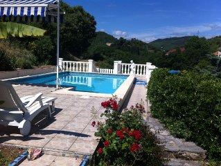 Grand Appartement dans VILLA  'casa Adélie' avec piscine