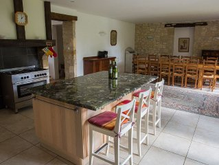 Stunning Large Country House With  Private Pool 25 mins from Bergerac airport