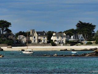 Maison spacieuse 50 METRES des plages- jardin clos-wifi - Brignogan