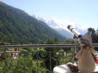Cosy apartment in 4* residence. Ski accomodation in Argentiere for 4 people