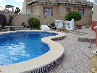 Detached Premium Villa with private pool, within walking distance of amenities