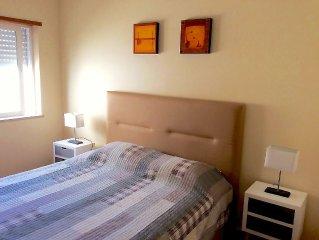 T1+1 familiar Golden Club Resort, Cabanas de Tavira. Wi-fi gratuito e TV cabo.
