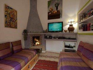 Riad dans médina,terrasse,O,1km plage,port,centre-ville,calme,en exclusivité..