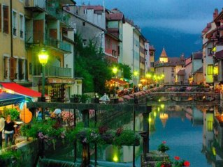 ANNECY QUIET AND ROMANTIC HISTORY
