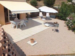 Charmant T2 neuf dans villa independante a seulement 10 mn d'Ajaccio
