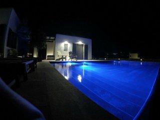 Minimal designed villa with cosy interior and private pool