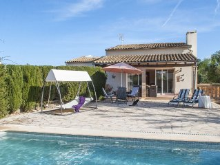 LUXURY VILLA WITH PRIVATE POOL, CLOSE TO THE BEACH, FULLY EQUIPED.