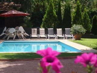 Torrelodones: Chalet en Torrelodones a 25 min de Madrid con piscina climatizada