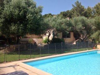 Grande villa familiale avec piscine