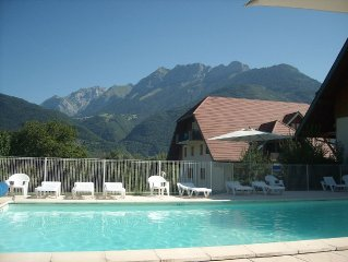 Peaceful Studio Apartment With Private Terrace plus Indoor and Outdoor Pools