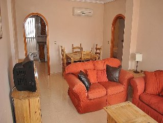 Deluxe 2 Bedroom AC Apartment With Large Private Balcony and Shared Pool