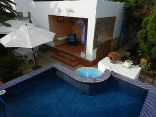 Home with pool in Las Salinas, 'tourist home' R. G.E: **********