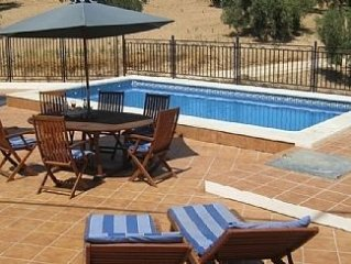 Traditional Country House, Private Pool, Air Conditioning (in Bedrooms) & Wi-Fi