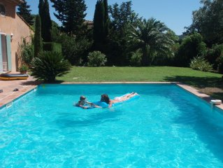 Beautiful, Spacious, Provencal Villa, Pool And Large Private Garden
