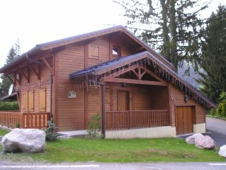 'Chalet Bleu', Rtes Des Chavannes, Detached 4 Bed Ski Chalet in Les Gets.