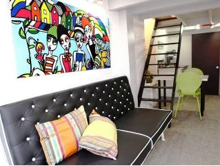 Duplex full of charm with WIFI to Biarritz Halles near beaches 3 people