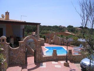 Stunning 2 bed villa in Baia Azzurra, Mr Capitana, Sardinia .