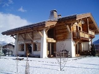 Beautiful Chalet with Stunning Views of Mont Blanc