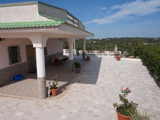 Villa in the quiet Puglia countryside with new pool, close to town