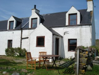 Fully modernised traditional croft cottage