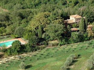 Villa Poggialto 12 sleeps, Tuscan private villa w
