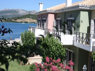 Thalassa Mare Seafront Lefkada Luxury Villas, Steps from the sea, Stunning view