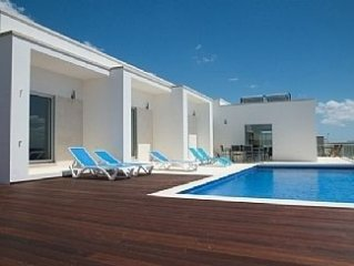 Spacious Villa With Spectacular Sea View From Terrace And Private Infinity Pool