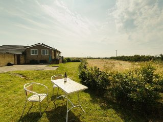Bungalow In The Countryside, Only 10 Minutes Drive From The Beach .Free wifi