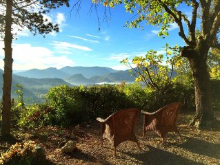 Mazet provencal au coeur des vignes & des collines- Vue exceptionelle- Nyons -8P