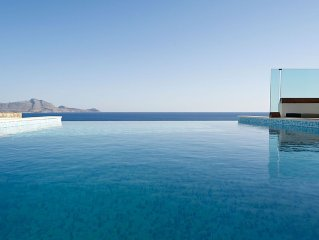 Luxury Villa in Lindos with Spectacular Infinity Pool and Incredible Sea Views!