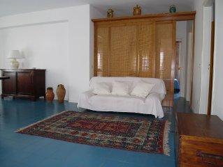 Selinunte. Tre camere in delizioso appartamento per 5 persone a 150 m dal mare