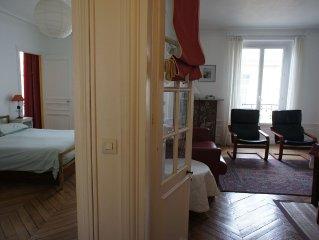 A Paris 17oBatignolles: confortable appartement familial