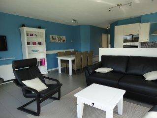 Zonnig gelijkvloers appartement met terras, tuintje en zicht op de duinen